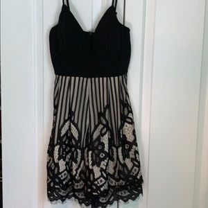 Lacy Romper new with tags size Medium